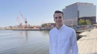 Elliot Sparrow, vd och medgrundare till Chalmers Ventures portföljbolag, Glenntex