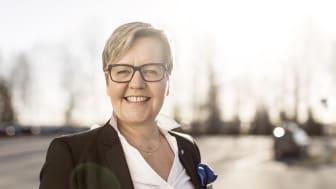 Gleder seg: Leder av VBs Ressursgruppe for Kompetanse og IT, Marie Christine Sanner, gleder seg til å presentere nye og spennende kompetanseprogrammer og aktiviteter for VBs medlemsbedrifter på nyåret.