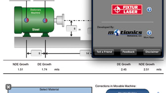 Free Apps for the Shaft Alignment Professionals