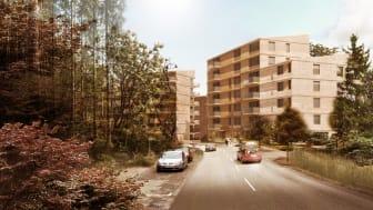Riksbyggen planerar för 200 nya bostäder i Kungsängen, Upplands-Bro
