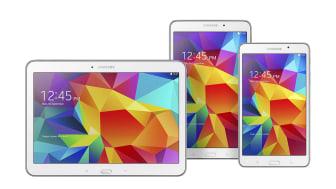 Samsung Galaxy Tab 4 har landat