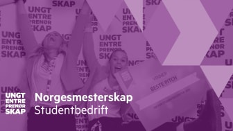 Norges aller fremste gründerspirer skal kåres under NM Studentbedrift 11. og 12. juni.