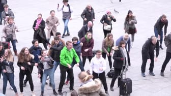 Tag der Rückengesundheit 2018 - Rücken-Flashmob Köln