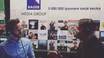 Marcus på PHD samtalar med Johan Backman, marknadschef på Circle K.