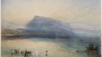 Joseph Mallord William Turner, The Blue Rigi, Sunrise, 1842 / Aquarell auf Papier, 29.7 x 45 cm© Tate, London, 2018