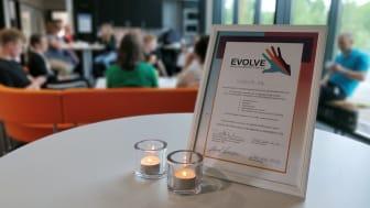 Diplomet för Videums mångfaldscertifiering.