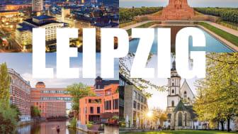 Eine von 14 Leipzig-Postkarten, die über MyPostcard versandt werden können - Grafik/Gestaltung: LTM / heimrich & hannot