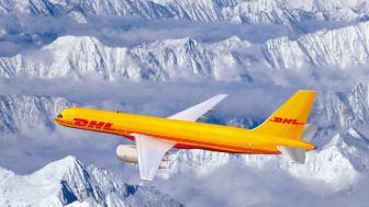 DHL - levering næste dag i USA
