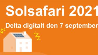 I år blir solsafarin digital