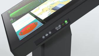 """Series X 55"""" Ultra High Definition Chart & Planning Table can be seen at Nor-Shipping (stand B02-25)"""