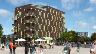 Holma torg i final till Malmö Stadsbyggnadspris 2017