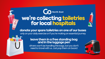 Go North East launches initiatives where customers and communities can help support the NHS