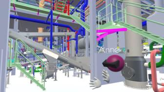 Virtuaalinen työympäristö ja erilaiset kokemukselliset teknologiat mahdollistavat isojenkin laitosten esittelyn reaalisena kokemuksena