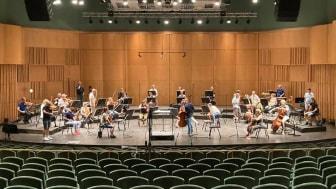 Gävle Symfoniorkester med social distans