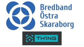 TH1NG lanseras i Bredband Östra Skaraborg