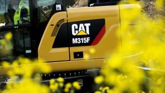 """Caterpillars första """"kortrumpade"""" hjulgrävare"""