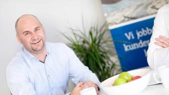 Medeier og Salgs- og markedsdirektør Ronny Helseth i Crone AS