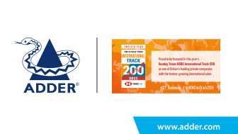 Adder Recognized in The Sunday Times HSBC International Track 200 for Second Year