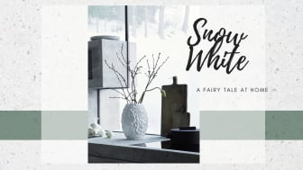 Snow White: Rosenthal creates a winter's tale for your home