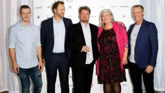 Representanter från Karlstads-Hammarö gymnasieförvaltning på White Guide Junior. Foto: Miriam Preis, White Guide Junior