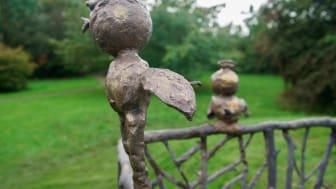 Barnens skulpturpark - Fågelkärlek (detalj4)
