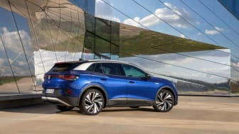 Volkswagen marknadsledare i april – nya elbilen ID.4 Sveriges mest sålda bil
