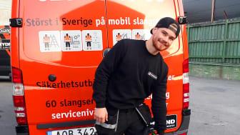 Hydroscands nytillskott Linus Hall förstärker det växande teamet i Stockholm