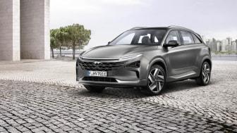 Hyundais helt nye hydrogenelektriske NEXO. Foto: Hyundai