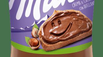 Milka entra en la categoría de cremas para untar con su nueva Crema al Cacao con Avellanas