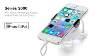iPad och iPhone säkras med nytt varularm