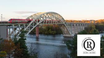 MTR Express är nu certifierade enligt ISO 9001 och ISO 14001 av LRQA Sverige AB.