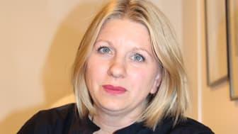 Erika Mattsson är ansvarig för Sparbanken Nord - Framtidsbanken, som innebär att ansvara för de 100 miljoner som Sparbanken Nord satsar i regional utveckling de kommande fem åren.
