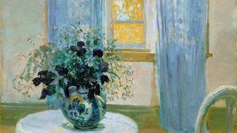 Anna Ancher, Interiør med klematis. 1913. Skagens Kunstmuseer