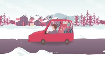 Condusul pe timp de iarnă nu este o glumă