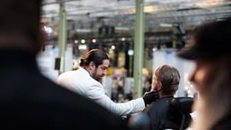 Vinnare av Copenhagen Barber Battle 2019 - Amin Iranmaneh från Sverige