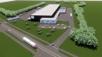 Brings nye terminal på Kongens Kvarter i Taulov.