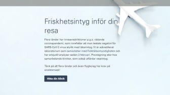 Friskhetsintyg behövs för svenskar vid resa till flera europeiska länder
