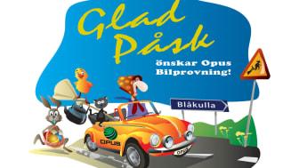 Glad Påsk önskar Opus Bilprovning