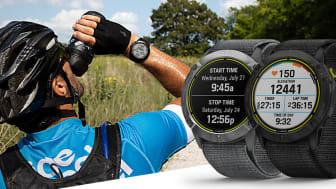 Vår smartwatch Enduro™ har uppdaterats med aktivitetsprofilen Adventure Racing