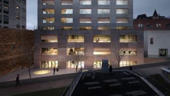 Johannes Norlander Arkitektur + Arup vinner arkitekttävling för Handelshögskolan i Göteborg