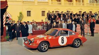Prisutdelning Monte Carlorallyt 1979