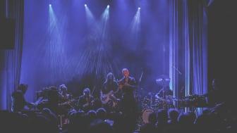 Karl Seglem slo godt an med sitt fantastiske band første dag på Førdefestivalen.