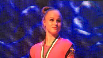 Jonna Adlerteg, guld i barr på World Challenge Cup