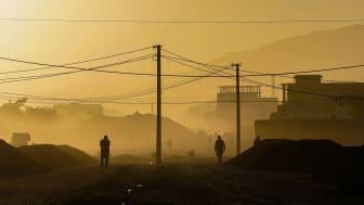 Bild från Afghanistans huvudstad Kabul. Foto: Mohammad Rahmani för Unsplash