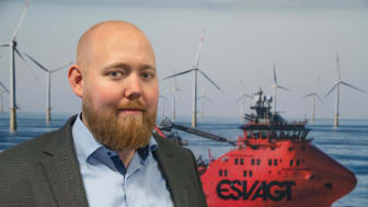 'We save up to an hour and a half of work registering data into the vessel's log – every day.'  Mikkel Damgaard Pedersen, IT Solutions Architect, ESVAGT.