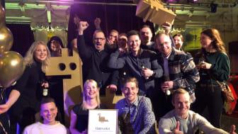 Team Hantverket vinner Gulddraken