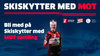 Skiskytter med MOT-samling i Mo i Rana - påmeldingsfrist 17. oktober