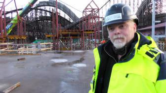 Kenneth Carlsson, områdeschef på mekaniska på Liseberg