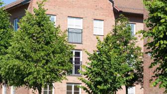 Forskaren på Campus i Växjö. Foto: Växjöbostäder