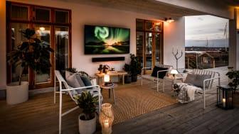 Äntligen landar Samsungs utomhus-tv The Terrace på den svenska marknaden